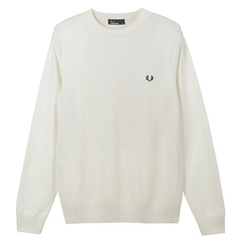[Authentic] Pique Texture Crew Neck Sweater (560)