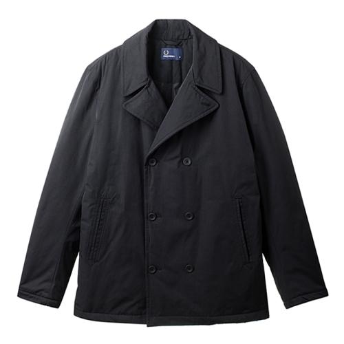 [Authentic]Quilted Pea Coat(102)