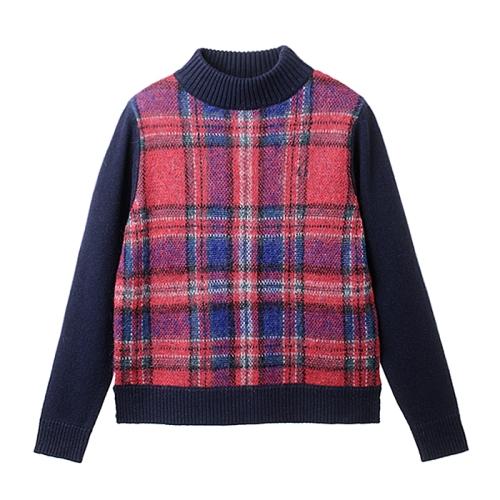 [Japan Collection]Tartan Sweater(J01)
