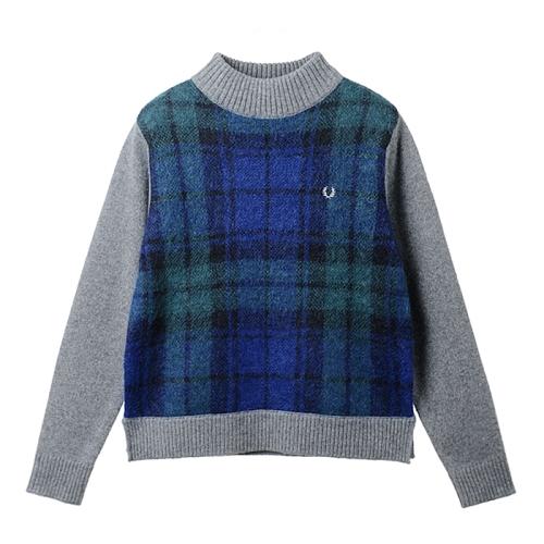 [Japan Collection]Tartan Sweater(J29)