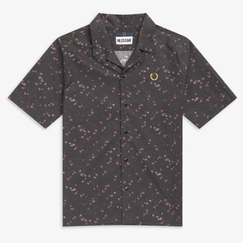 [Miles Kane] Liberty Print Bowling Shirt(102)