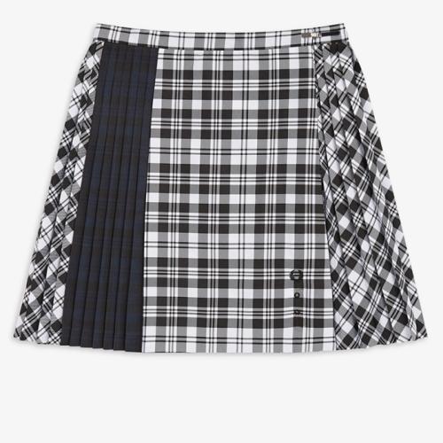 [Le Kilt] Mixed Tartan Tennis Skirt(102)