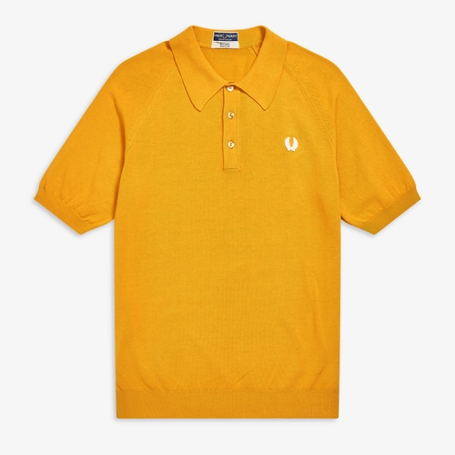 [Reissues] S/S Raglan Sleeve Knitted Shirt(H68)
