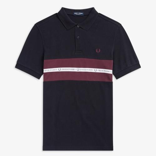 3d8f2fe3d [Sports Authentic] Sports Tape Pique Shirt(608)