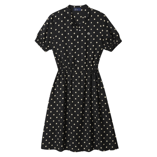[Japan Collection] Polka Dot Shirt Dress(J07)
