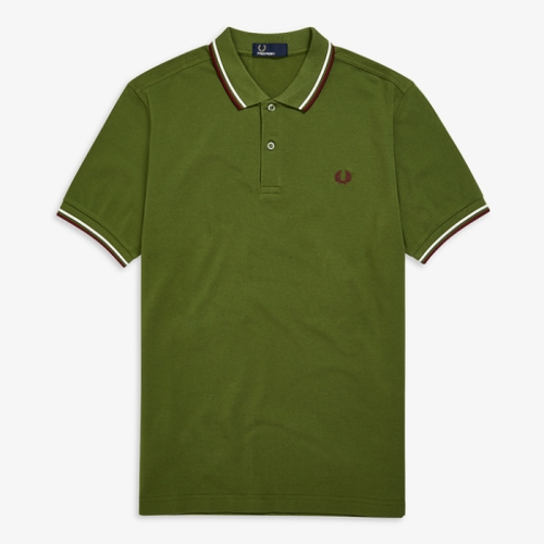 [Authentic] Twin Tipped Fred Perry Shirt(H94)